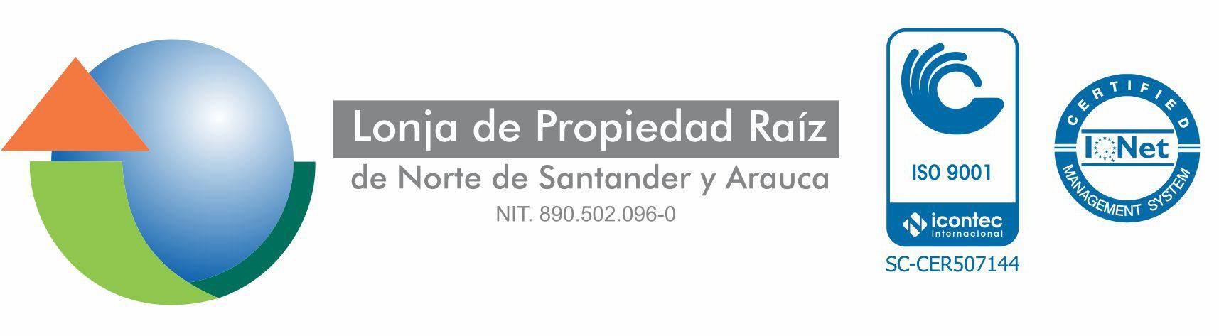 Lonja de Propieda Raiz Norte de Santander y Arauca