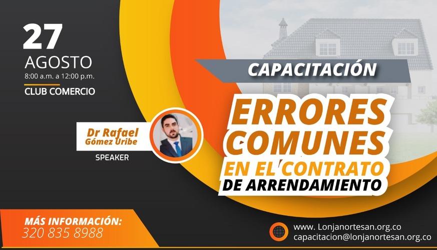 """""""Errores Comunes En El Contrato De Arrendamiento"""""""