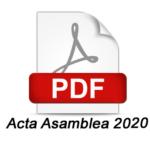 acta asamblea 2020